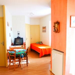 Petit salon et lit d'appoint